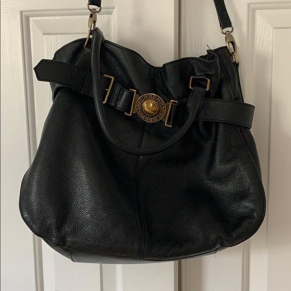 Burberry Handbags - Burberry Leather Runway bag!!